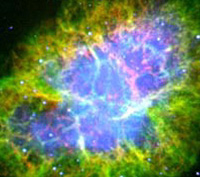 Crab Nebula - optical