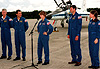 STS-93 Crew Arrives