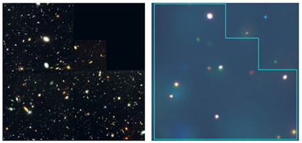 Chandra Press Room :: Deepest X-Rays Ever Reveal universe Teeming With Black Holes :: March 13, 2001