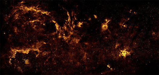 Chandra :: Photo Album :: Galactic Center :: November 10, 2009