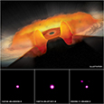 Photo of 3 Quasars
