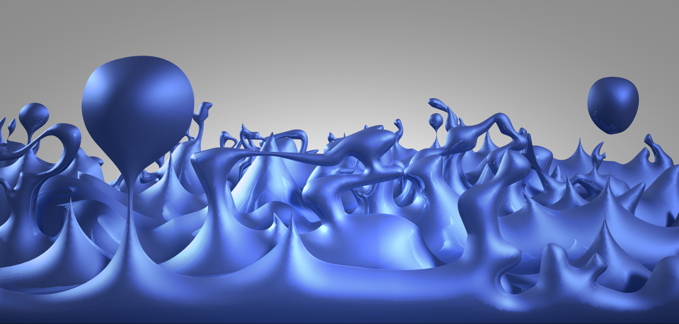 Illustration of Quantum Foam