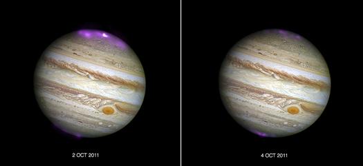 Nordlys på Jupiter