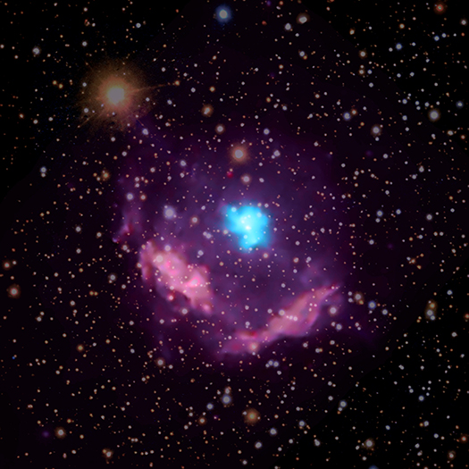 Milky Way's Youngest Pulsar Exposes Secrets of Star's Demise   ChandraBlog   Fresh Chandra News