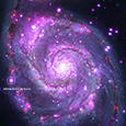 Photo of ULX in M51