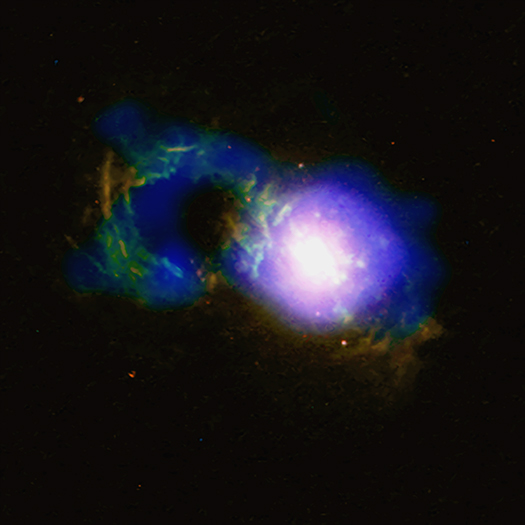 Storm Rages in Cosmic Teacup | ChandraBlog | Fresh Chandra News