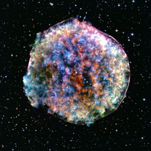 Image of Tycho's Supernova Remnant