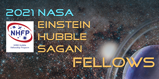 NASA Hubble Fellowship Program (NHFP) graphic