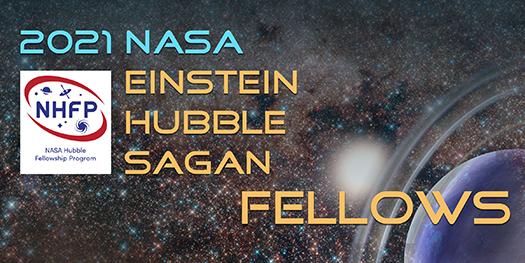 NASA Hubble Fellowship Program (NHFP) graphic